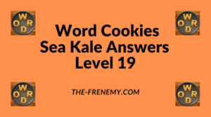 Word Cookies Sea Kale Level 19 Answers
