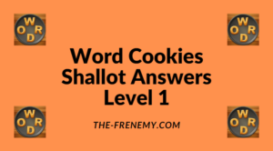 Word Cookies Shallot Level 1 Answers