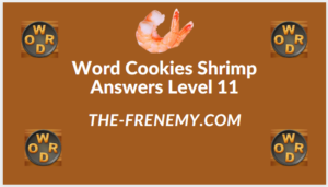 Word Cookies Shrimp Level 11 Answers