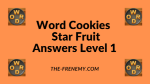 Word Cookies Star Fruit Level 1 Answers