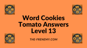Word Cookies Tomato Level 13 Answers