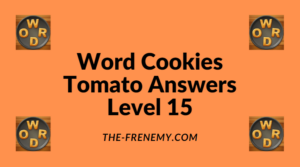 Word Cookies Tomato Level 15 Answers