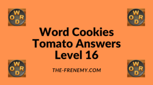 Word Cookies Tomato Level 16 Answers