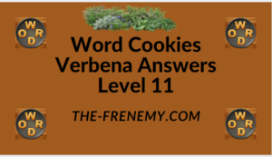 Word Cookies Verbena Level 11 Answers