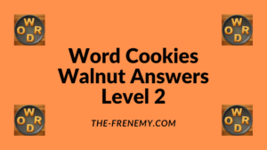 Word Cookies Walnut Level 2 Answers