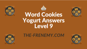 Word Cookies Yogurt Answers Level 9