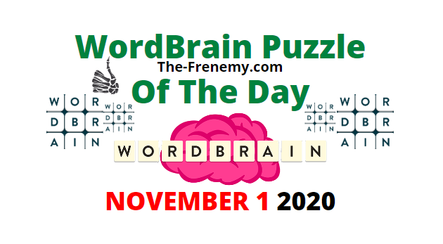 Wordbrain Puzzle of the Day November 1 2020 Daily