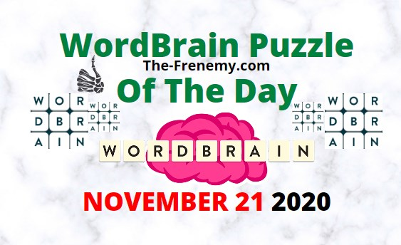 Wordbrain Puzzle of the Day November 21 2020 Answers