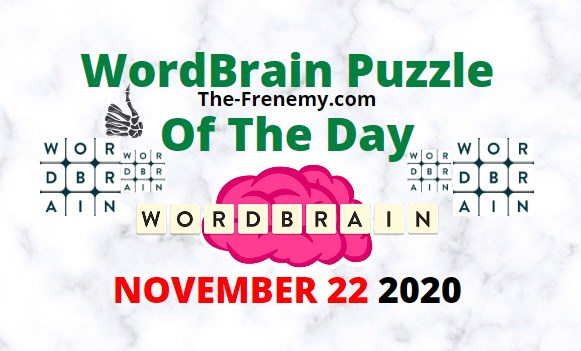 Wordbrain Puzzle of the Day November 22 2020 Daily