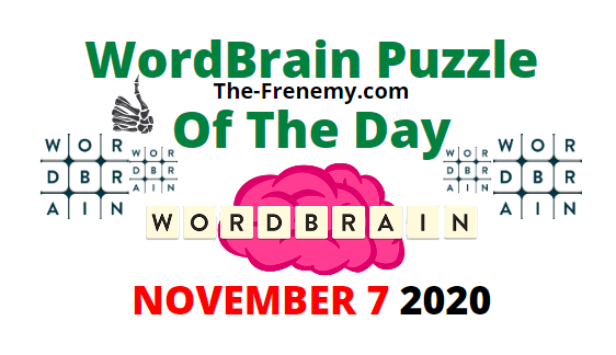 Wordbrain Puzzle of the Day November 7 2020 Daily