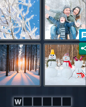 4 Pics 1 Word December 21 2020 Answers Today
