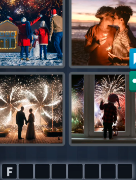 4 Pics 1 Word December 31 2020 Answers Today