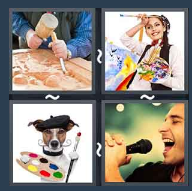 4 Pics 1 Word Level 1563 Answers