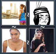 4 Pics 1 Word Level 1564 Answers