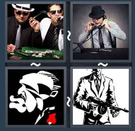 4 Pics 1 Word Level 1575 Answers