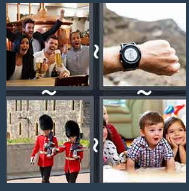 4 Pics 1 Word Level 1603 Answers
