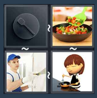 4 Pics 1 Word Level 1779 Answers