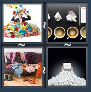 4 Pics 1 Word Level 1787 Answers
