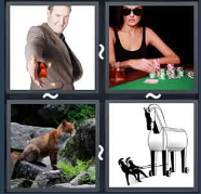4 Pics 1 Word Level 1789 Answers