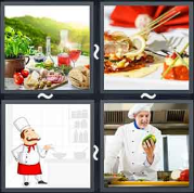 4 Pics 1 Word Level 1801 Answers