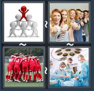 4 Pics 1 Word Level 1871 Answers