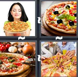 4 Pics 1 Word Level 2044 Answers