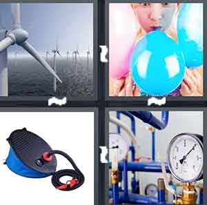 4 Pics 1 Word Level 2161 Answers