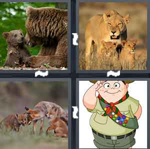 4 Pics 1 Word Level 2164 Answers