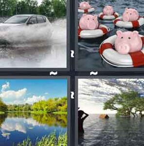 4 Pics 1 Word Level 2218 Answers