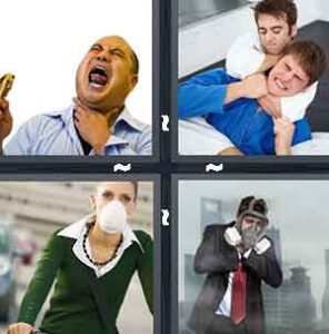 4 Pics 1 Word Level 2348 Answers