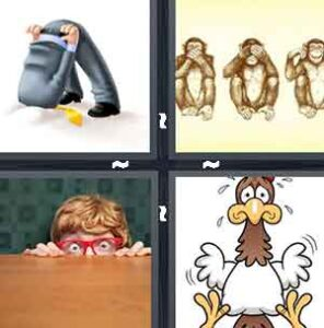 4 Pics 1 Word Level 2351 Answers