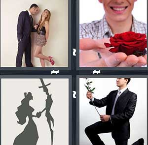 4 Pics 1 Word Level 2381 Answers