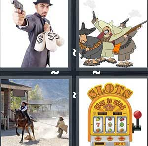 4 Pics 1 Word Level 2462 Answers