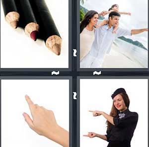 4 Pics 1 Word Level 2467 Answers