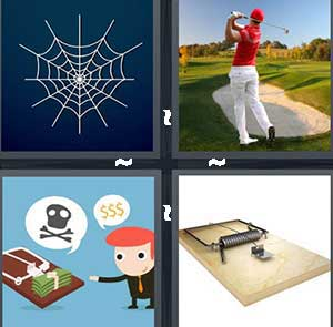 4 Pics 1 Word Level 2487 Answers