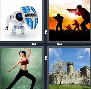 4 Pics 1 Word Level 2501 Answers