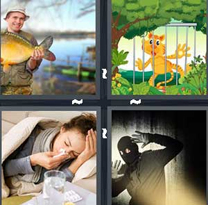 4 Pics 1 Word Level 2507 Answers