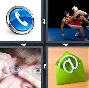 4 Pics 1 Word Level 2530 Answers