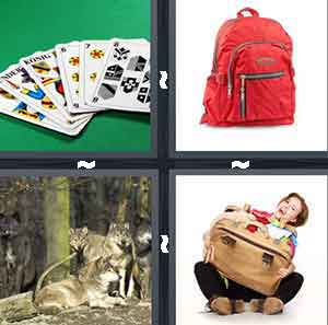4 Pics 1 Word Level 2569 Answers