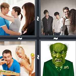 4 Pics 1 Word Level 2607 Answers