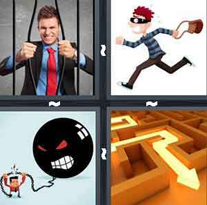 4 Pics 1 Word Level 2658 Answers