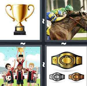 4 Pics 1 Word Level 2673 Answers