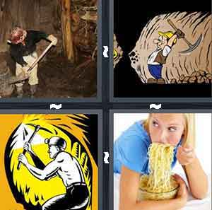 4 Pics 1 Word Level 2713 Answers