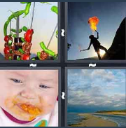 4 Pics 1 Word Level 3138 Answers
