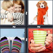 4 Pics 1 Word Level 3187 Answers