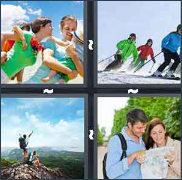 4 Pics 1 Word Level 3192 Answers