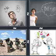 4 Pics 1 Word Level 3295 Answers