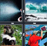 4 Pics 1 Word Level 3303 Answers