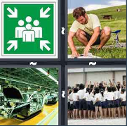 4 Pics 1 Word Level 3309 Answers