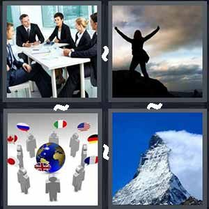 4 Pics 1 Word Level 482 Answers